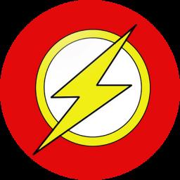 Flash Logo Icon by mahesh69a on DeviantArt