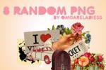 8 random PNG