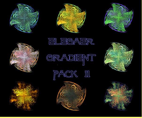 Apophysis - Gradient Pack 2 by elegaer-too