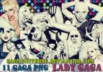 Lady Gaga PNG Pack 12