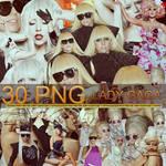 Lady Gaga Pack Png 2O