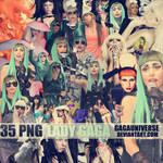 Lady Gaga Pack Png 22