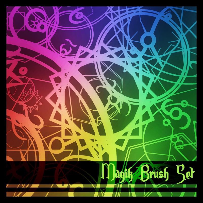 Scrap Magic Circle Brushes by LoneMuffin