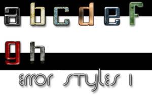 Error styles 1 by Error-403-Forbidden