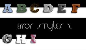 Error styles 2 by Error-403-Forbidden