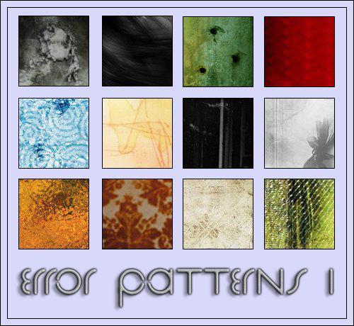 Error PS Patterns 1 by Error-403-Forbidden