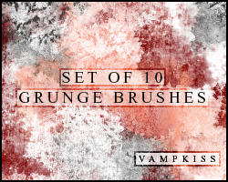 PS Grunge Brushes by vamp-kiss
