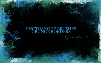 Grunge Border Brushes by vamp-kiss