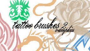 Tattoo Brushes 2 by vamp-kiss