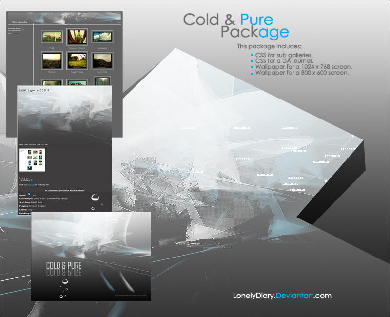 Cold and Pure Package by LonelyDiary
