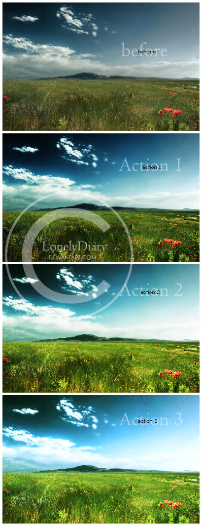 Horizon Actions by LonelyDiary