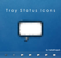 Tray Status Icons by mastaofmuppets