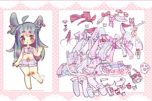 Adopt+dress up game Auction(closed)