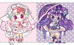 Animated Bloom Babies adopt Auction(OPEN) 1$SB by Bai-Jiu