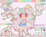 Rainbow Bow Animated Adopt OTA !(OPEN) by Bai-Jiu