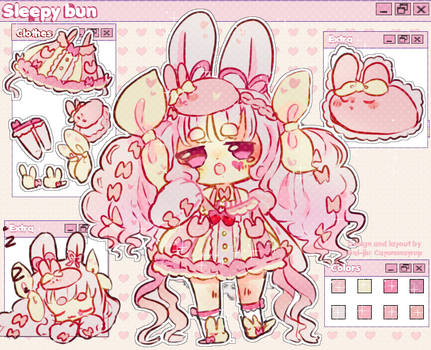 Sleepy bun Animated Adopt OTA !(closed)