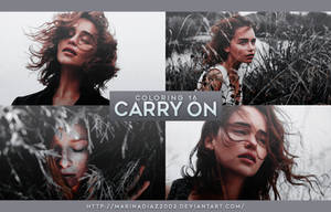PSD COLORING 16 - [Carry On] by MarinaDiaz2002