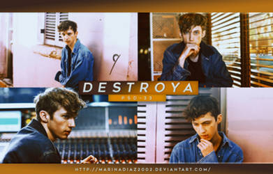 PSD COLORING  35 - [Destroya] by MarinaDiaz2002
