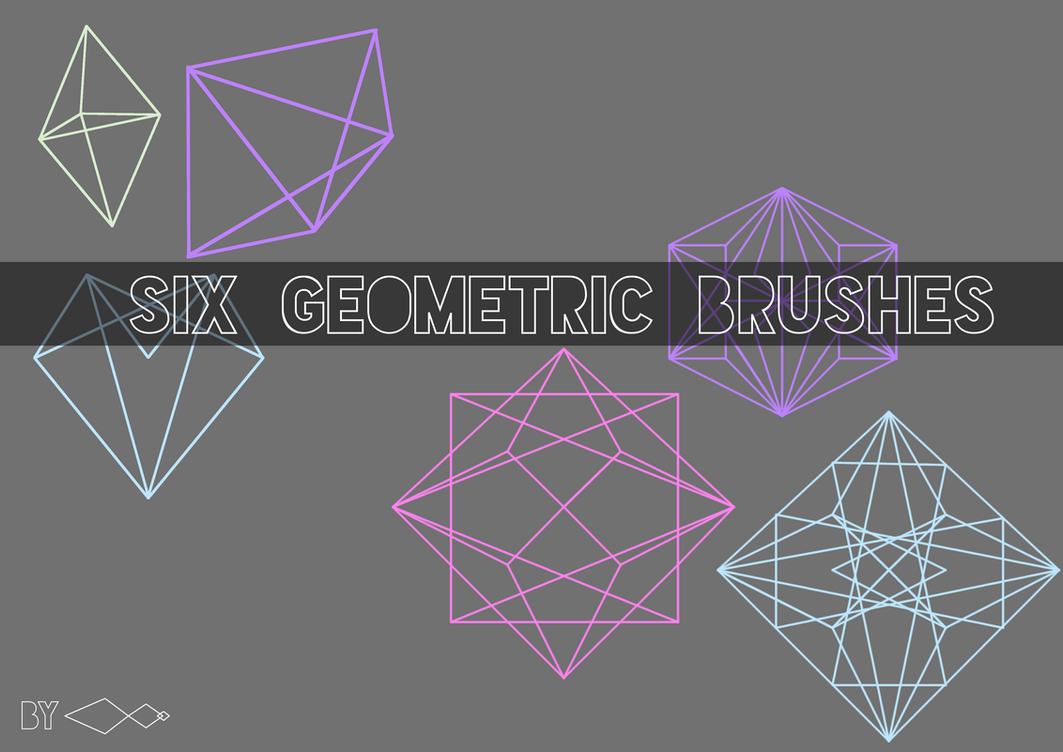 Line Art In Gimp : Six geometric brushes for gimp by ant on deviantart