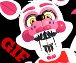 Funtime Foxy jumpscare (SFM gif)