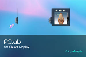 FCtab for CD Art Display by AquaTemple