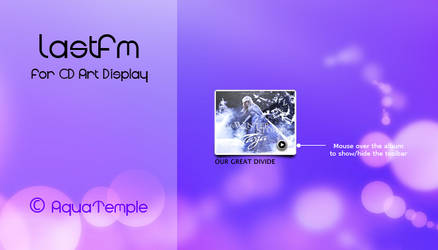 LastFM for CD Art Display by AquaTemple
