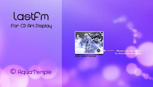 LastFM for CD Art Display