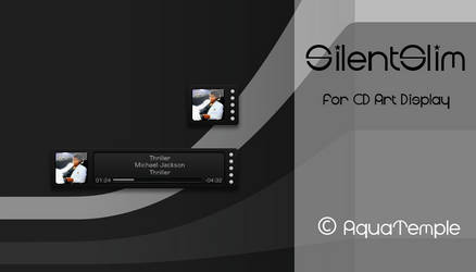 SilentSlim for CD Art Display by AquaTemple