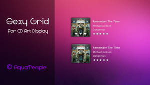 Sexy Grid for CD Art Display by AquaTemple