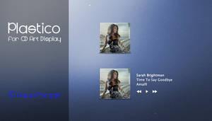 Plastico for CD Art Display