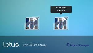 Lotus for CD Art Display