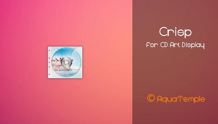 Crisp for CD Art Display by AquaTemple