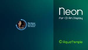 Neon for CD Art Display
