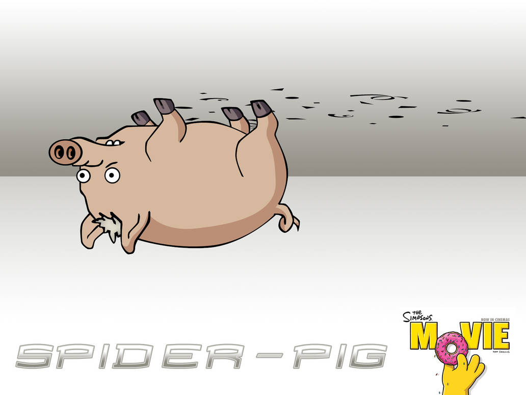 Spider Pig By Florianmecl On Deviantart