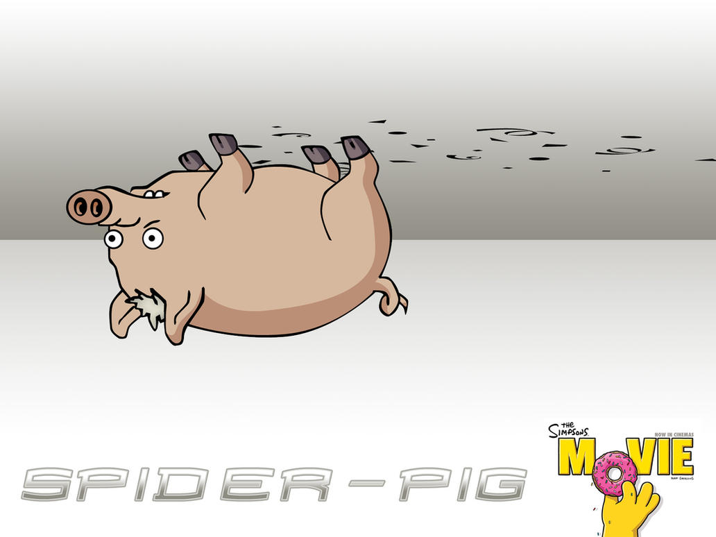 Spider - Pig by FlorianMecl