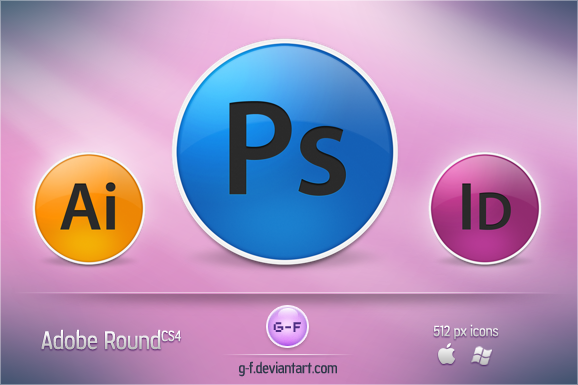 Adobe Round CS4 by g-f
