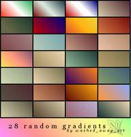 Gradients, Set 01 by anolinde