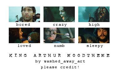 King Arthur Moodtheme