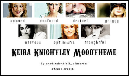 Keira Knightley Moodtheme