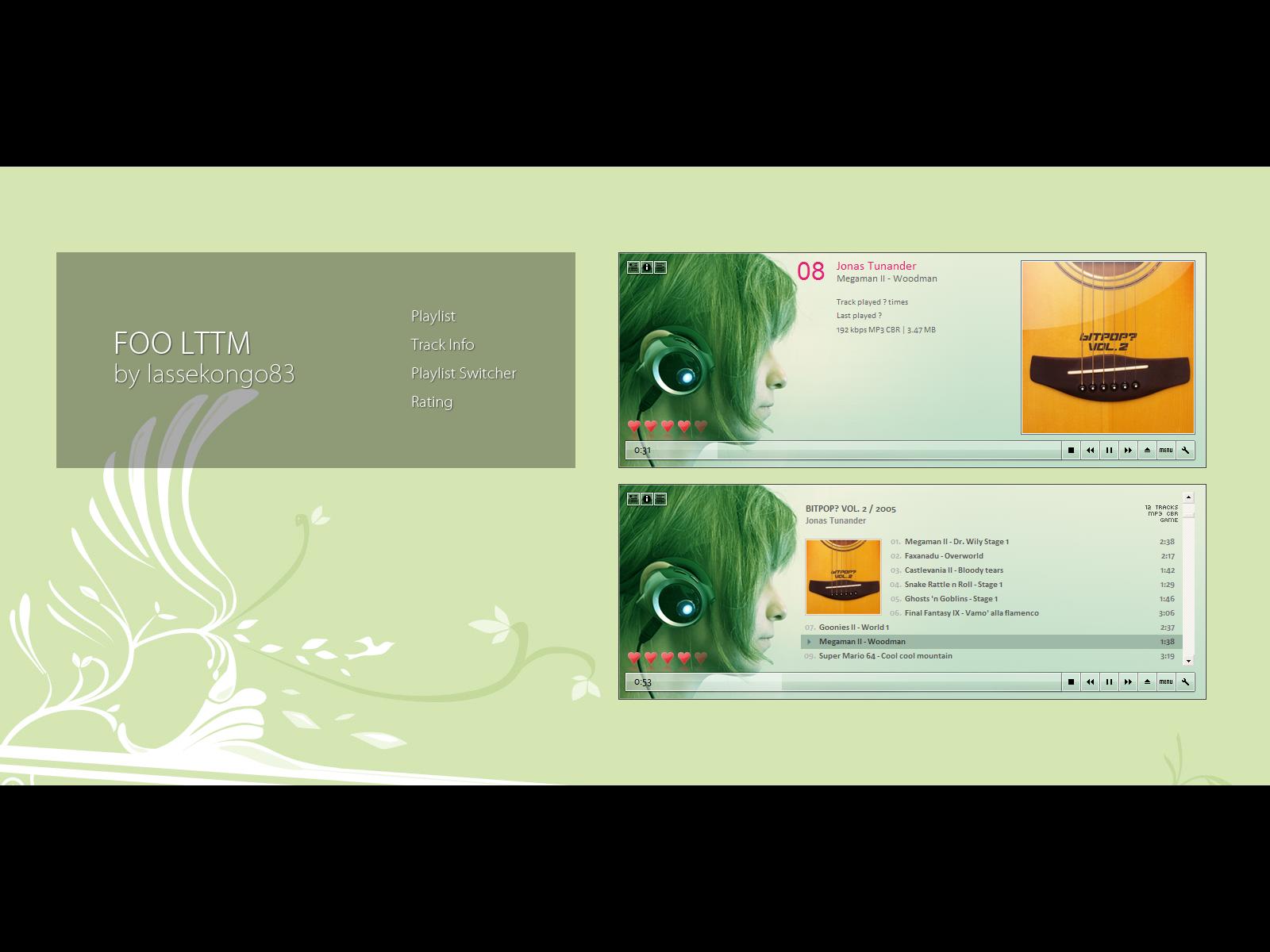 Foo LTTM -Listen To The Music-