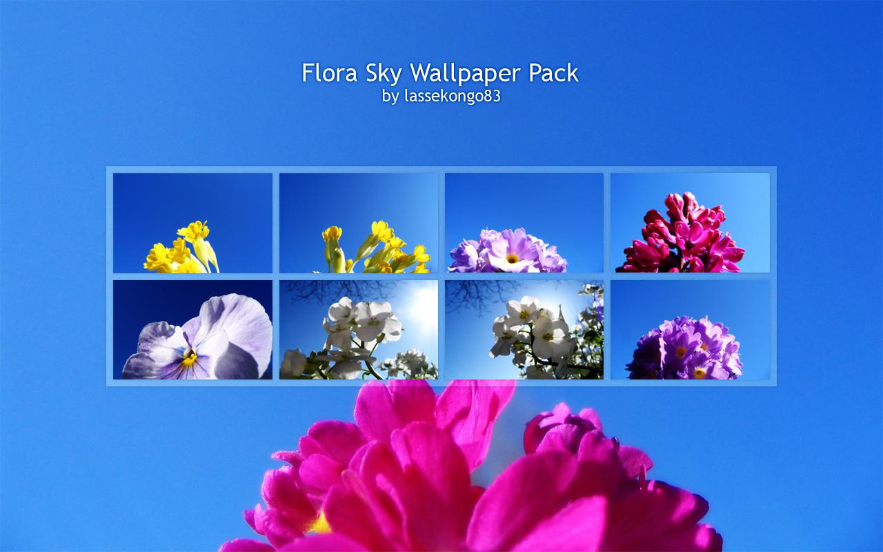 Flora Sky Wallpaper Pack by lassekongo83