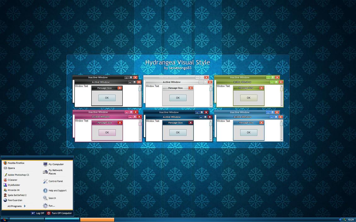 20 Temas para Windows 7 y xp