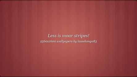 Less is moar stripes by lassekongo83