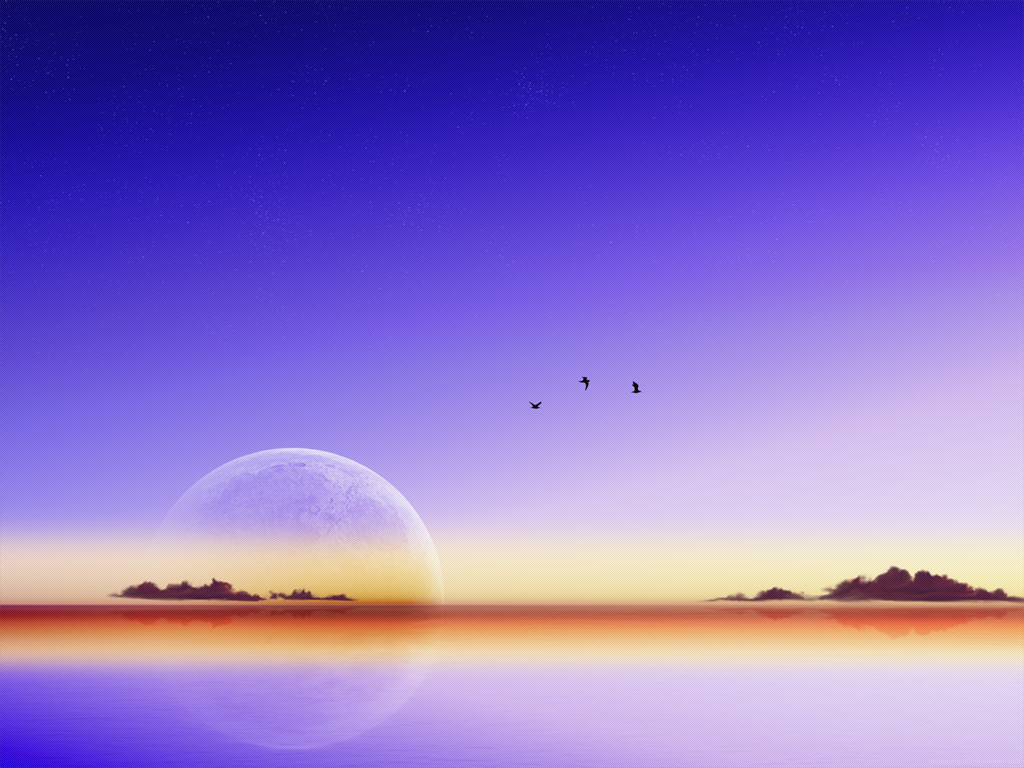 Lakeside evening by lassekongo83