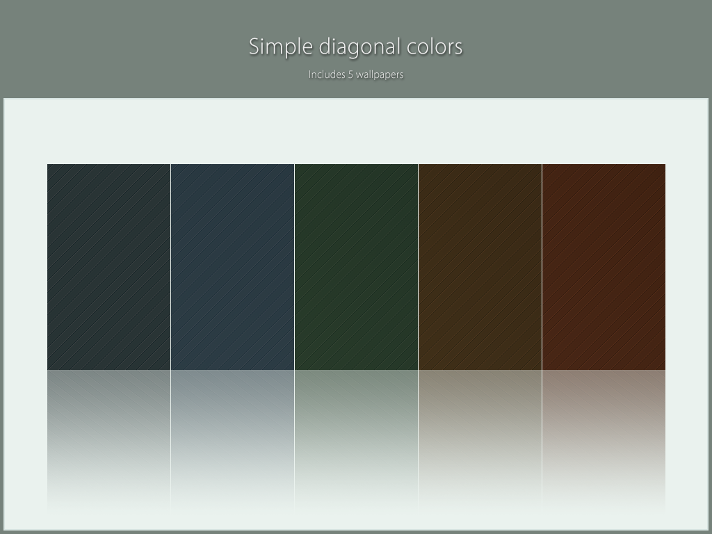 Simple diagonal colors by lassekongo83