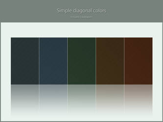 Simple diagonal colors by lassekongo83