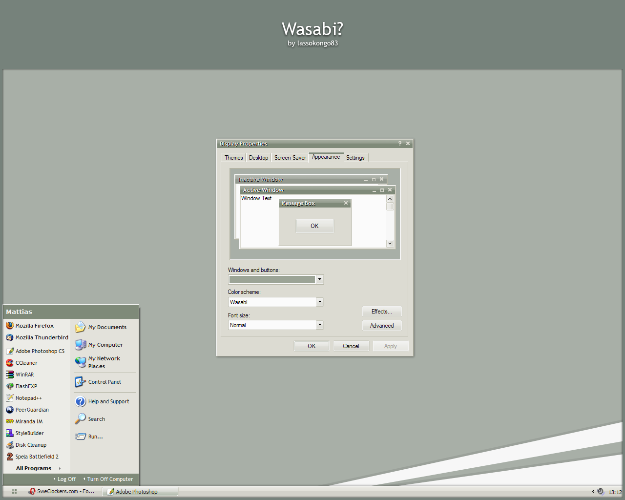 Wasabi? by lassekongo83