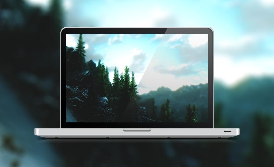 Skyrim Tree skyline by lpzdesign
