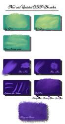New and updated csp brushes by Yettyen