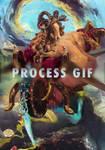 Fortuna [process gif] by MostlyHorseManips